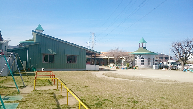 白鈴保育園園舎
